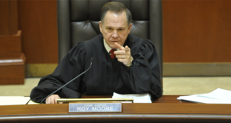 Showdown In Alabama: Chief Justice Defies Federal Courts Over Gay Marriage