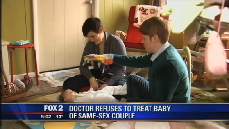 Christian Doctor Refuses To Treat Baby Because Parents Are Lesbians (VIDEO)