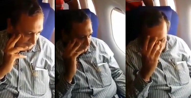 Girl Confronts & Humiliates Man Who Allegedly Abused Her On Plane (VIDEOS)