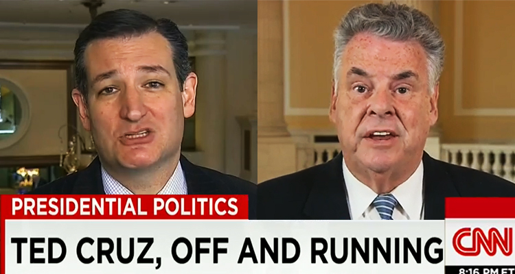 Peter King Trashes Ted Cruz: 'A Guy With A Big Mouth And No Results' – VIDEO