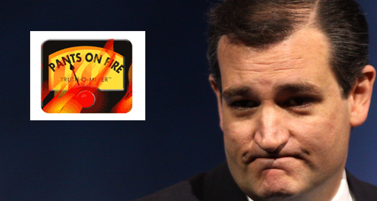 Ted Cruz's Stunning Record Of Telling Lies