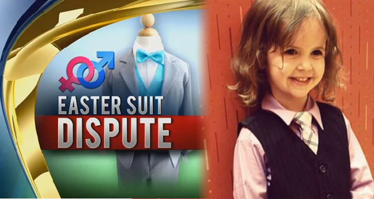 Store Alleges 'Child Abuse' Because Girl Wanted To Wear A Boy's Suit (VIDEO)