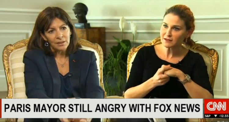 I'm 'Still Angry' with Fox News Lies, Lawsuit Moving Forward: Paris Mayor – VIDEO