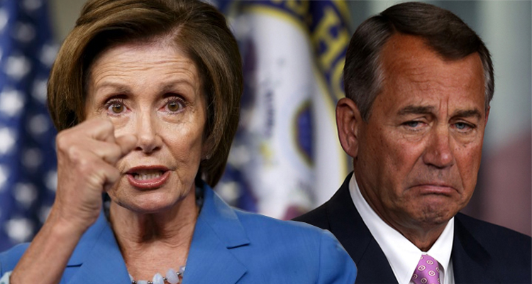 John Boehner Loses Control Of The House