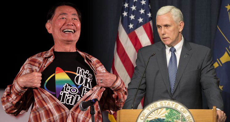 The Time George Takei Went Toe-To-Toe With Mike Pence And Won