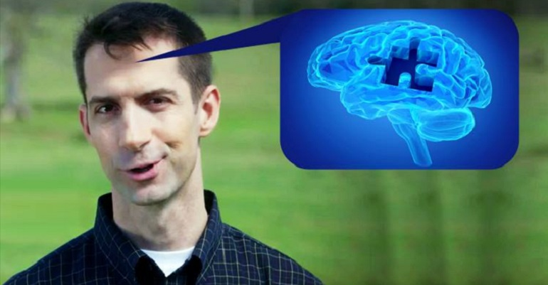 Open Letter To GOP: Sen. Tom Cotton Is In Dire Need Of Medical Attention