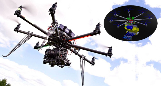 What Kind Of F*ckery Is This? Air Assault Drones Developed For Use By Police – VIDEO