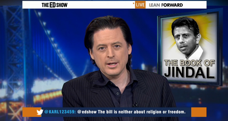 John Fugelsang's EPIC Smackdown: 'Bobby Jindal Is To Christianity What Christ Was To Bigotry' – VIDEO