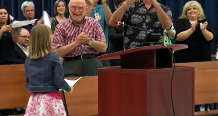 9-Year-Old Girl Shames Florida School Board – VIDEO