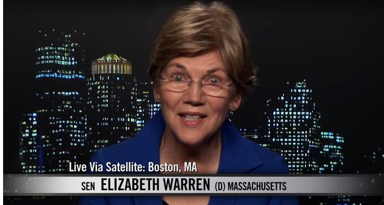 Elizabeth Warren Lashes Out At Corruption In Washington – VIDEOS