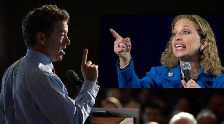 Rand Paul Asks DNC 'Is it Okay To Abort A 7 lb. Baby?' – Wasserman-Schultz Responds