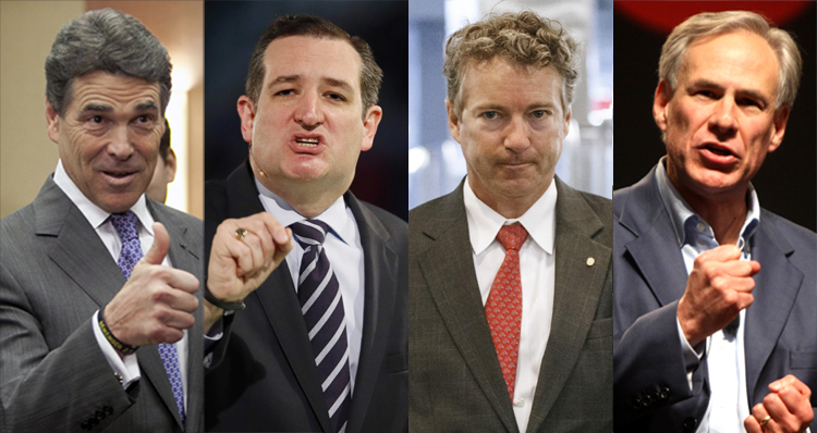 Fringe Conspiracy Theories & The Battle Of The Texas Tea Party Lunatics