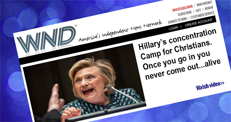 Hillary's Concentration Camp For Christians. Once You Go In, You Never Come Out…. ALIVE! – VIDEO