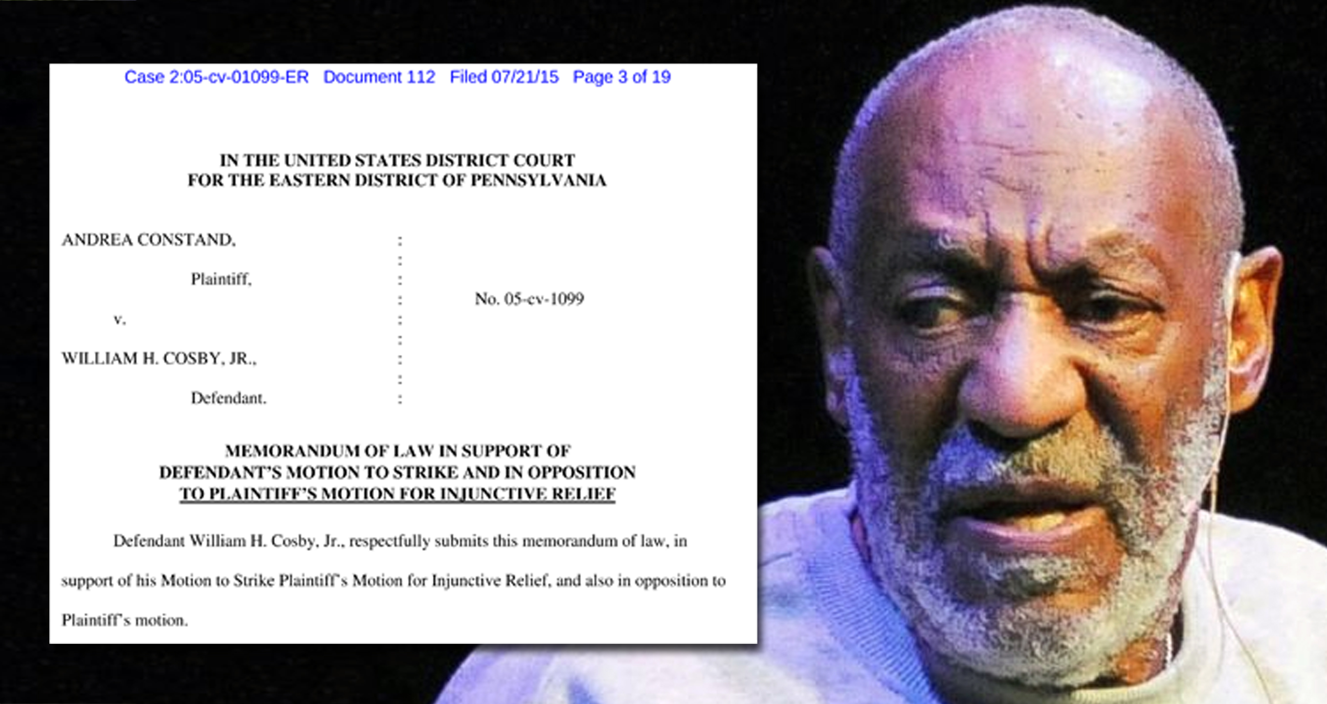 Cosby Lawyers Launch Legal Attack On Alleged Victim