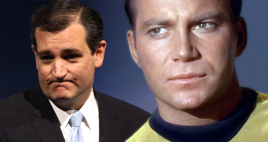 Ted Cruz Fact-Checked By William Shatner After Making Comments About Captain Kirk