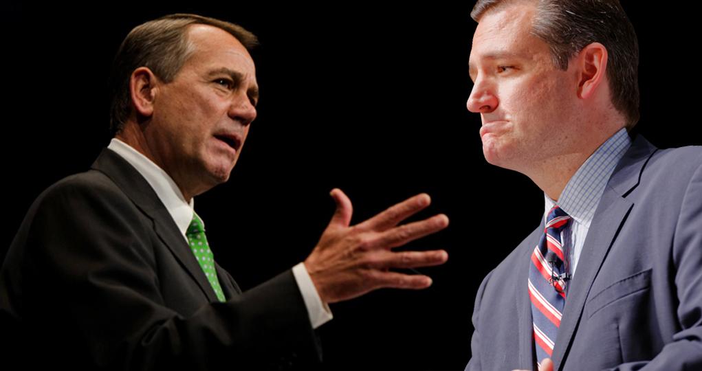 John Boehner Calls Ted Cruz A 'Jackass' At Colorado Fundraiser