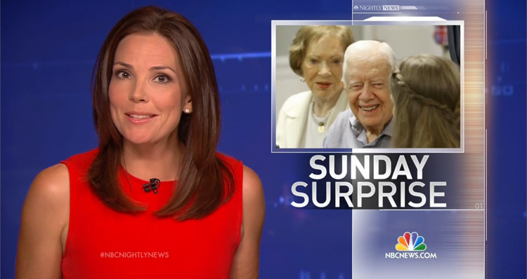 Good News: Jimmy Carter Attends Sunday School, Church Service After Cancer Diagnosis – VIDEO