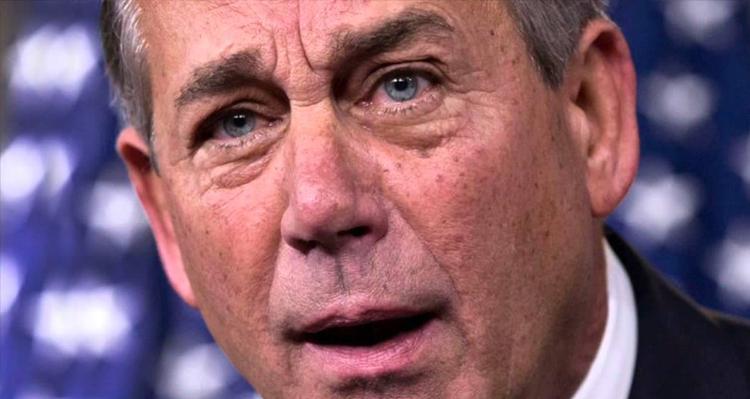 Conservatives Unleash Furious Assault On John Boehner