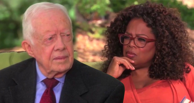 President Jimmy Carter: 'I Was The Only White Child In The Neighborhood' (Video)