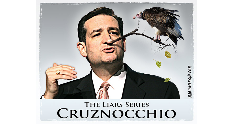 Ted Cruz Thy Name Is Hypocrite