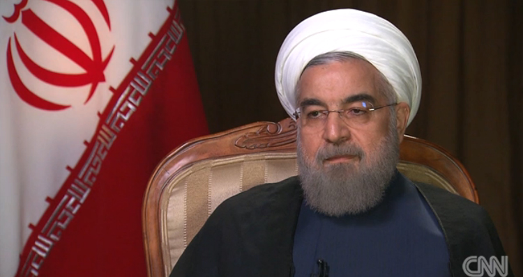 Iran's President Trolls GOP Candidates: They Can't Even Find Iran On A Map (Video)