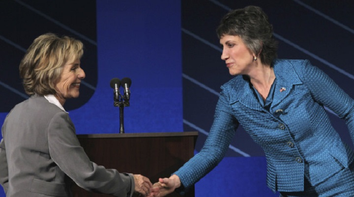 That Time Carly Fiorina Was Caught Making Fun Of Sen. Barbara Boxer's Looks