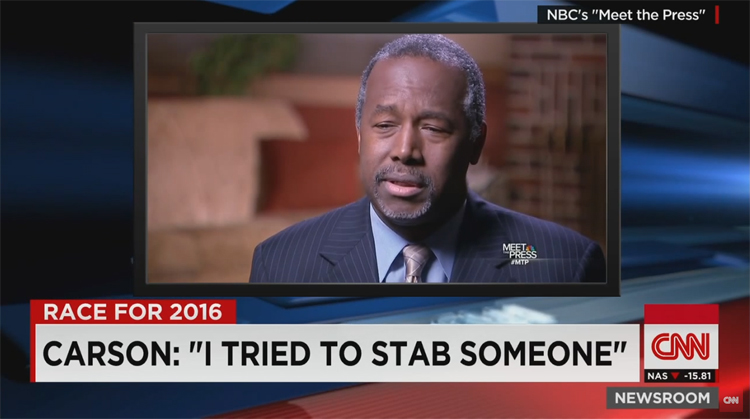 Ben Carson Used To Be A Homicidal Maniac? (Video)