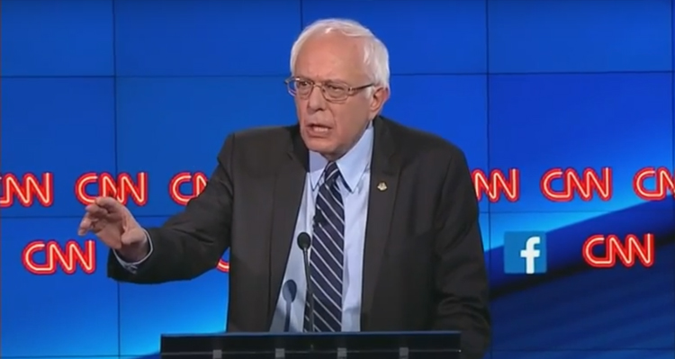 How Bernie Sanders Won The Debate, And Possibly The Presidency, In Less Than 60 Seconds (Video)