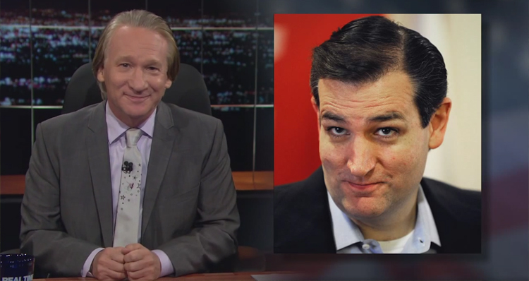 Bill Maher: I Just Know Ted Cruz Is Wearing A Bra And Panties Under That Suit (Video)