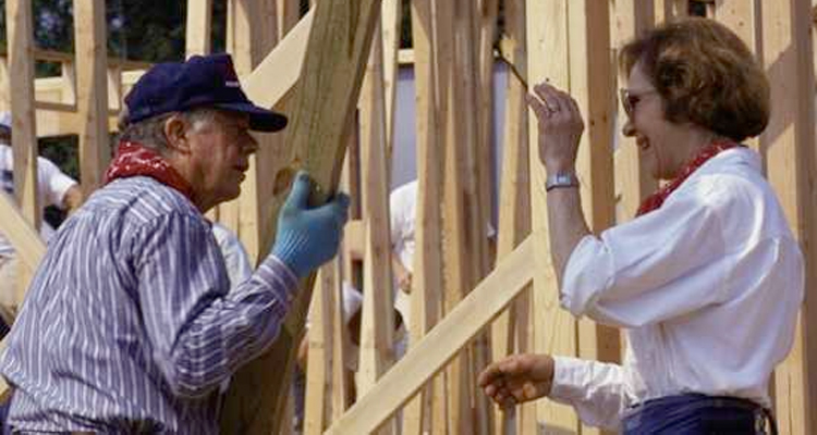 Celebrating His 91st Birthday, President Carter Announces A Habitat For Humanity Trip To Nepal
