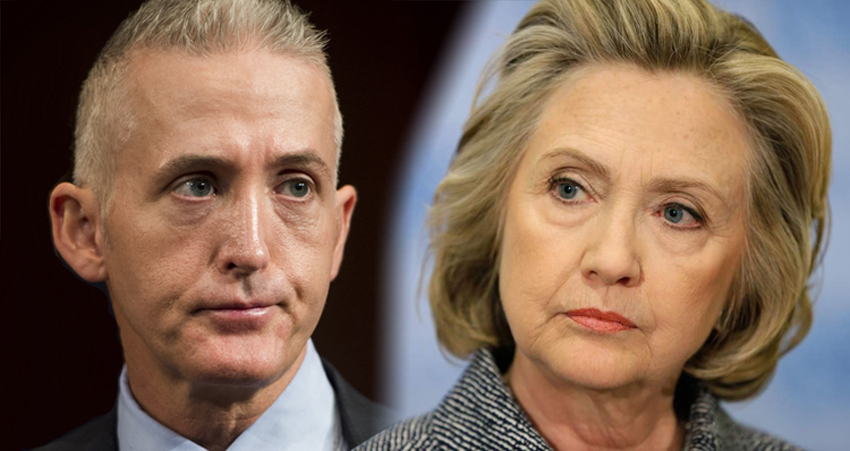 CIA: Trey Gowdy Altered Documents To Frame Hillary Clinton
