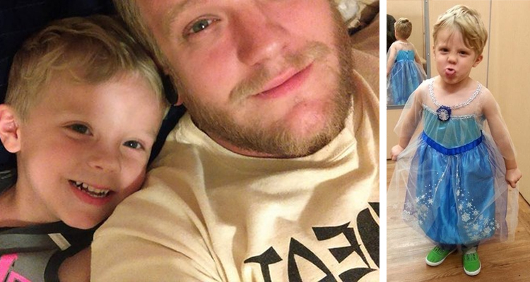 Dad Ices Gender Norms After Son Decides To Dress As Elsa For Halloween – He's Going As Anna