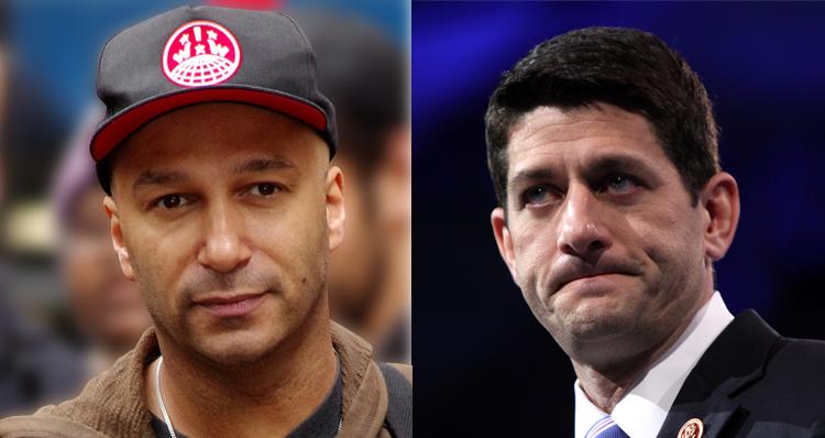 Rage Against The Machine Rages Against Paul Ryan