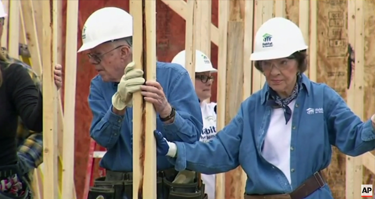 Jimmy Carter 'Looks Great, Sounds Great' – Keeps Busy Despite Cancer (Video)