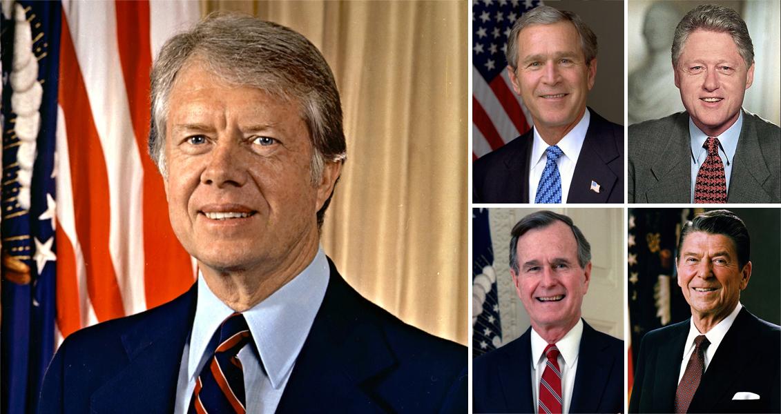 American Voters Say Jimmy Carter Has The Best Post-Presidency