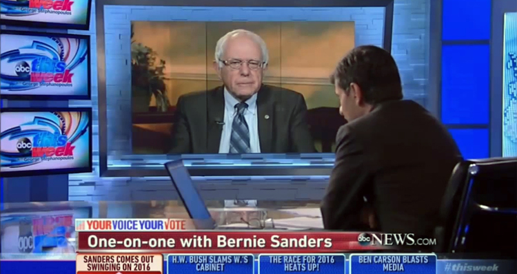 Sanders: Clinton 'Infinitely Better' On Her Worst Day Than Any Republican On Their Best