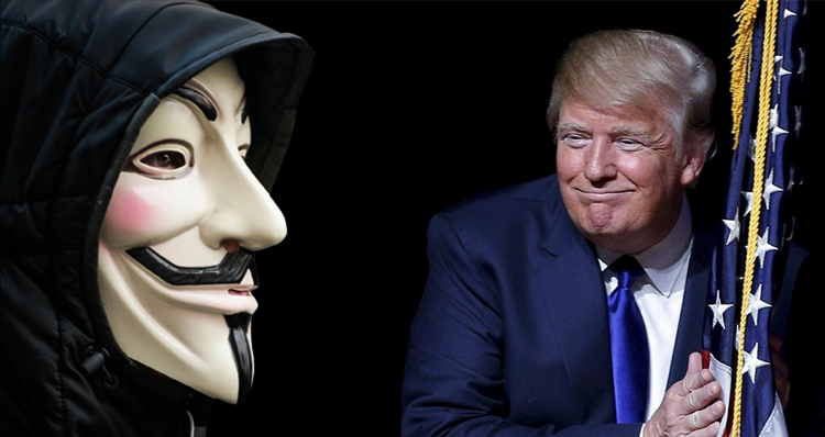 Anonymous Launches Recruiting Drive To Take Down Donald Trump – Video