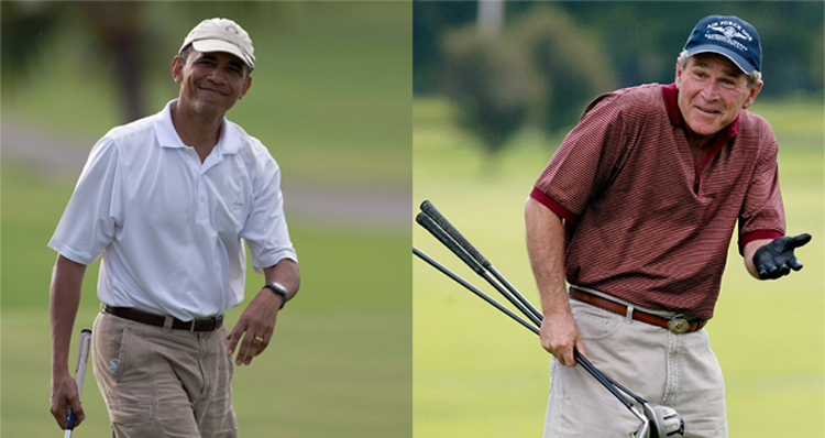 Hey Conservatives, Let's Compare Obama And Bush Vacations