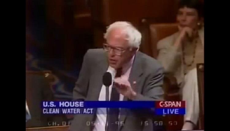 Watch Bernie Sanders Publicly Shame Homophobic Republican In 1995 – Video
