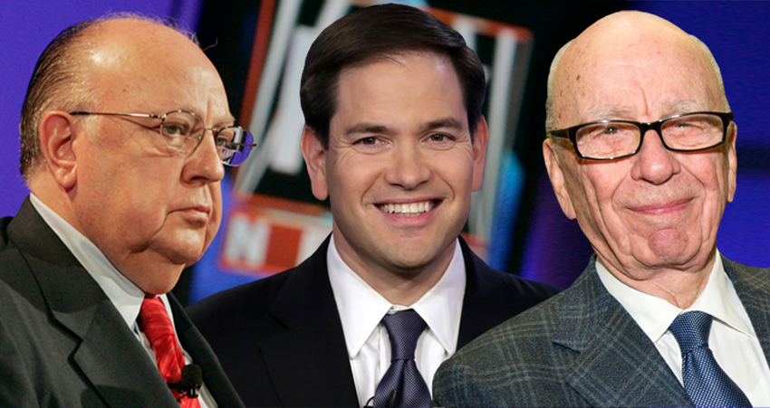 Bombshell Report: Fox News Conspired With Marco Rubio To Grant Amnesty To Illegal Aliens