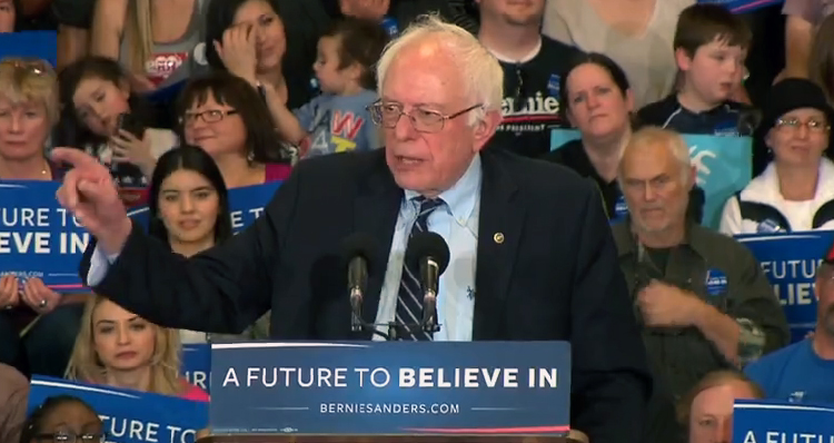 Watch Bernie Sanders Troll 'Brilliant Scientist' Donald Trump And His Climate Theory