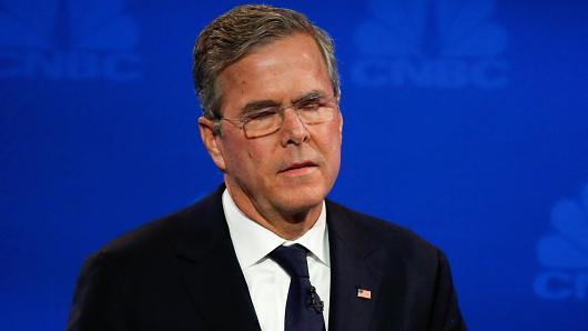 Jeb Bush Hits Rock Bottom