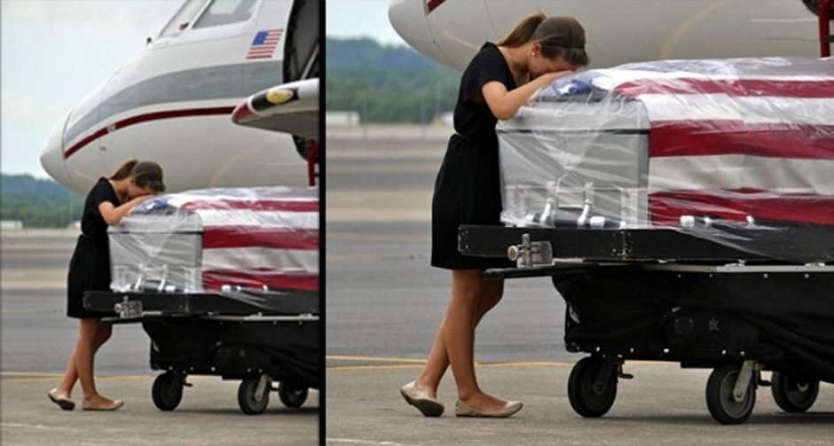 Heart-Wrenching Photo That Shows The Painful Cost Of War
