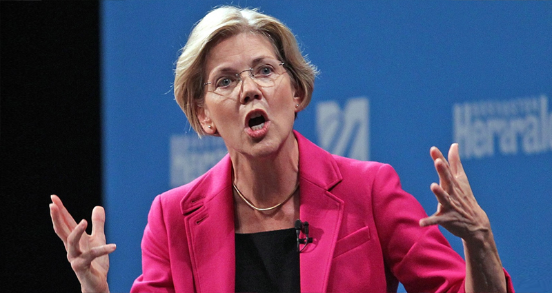 Elizabeth Warren Is Angry As Hell, Calls Donald Trump A 'Loser' A 'Cheat' A 'Tyrant'