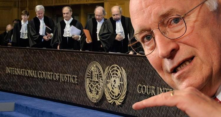 D Cheney ICC