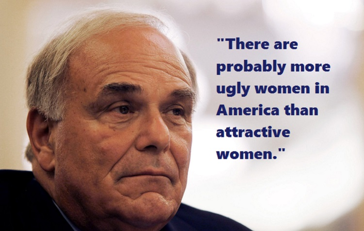 Response to Ed Rendell's Comment About All Those 'Ugly Women in America'