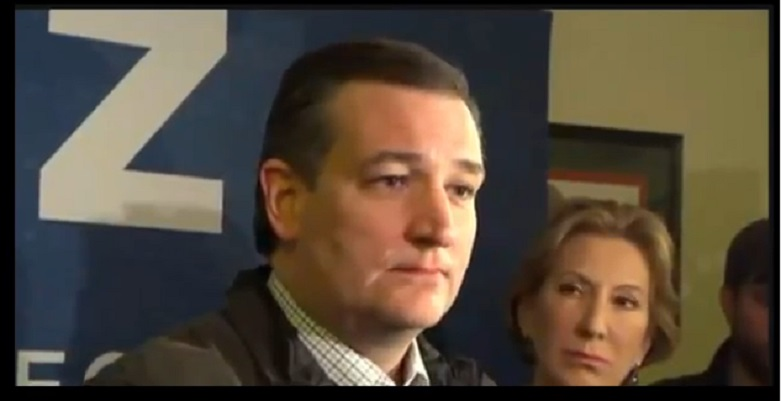 Cruz Has Complete Meltdown – Rips Trump A New One In Press Conference – Video