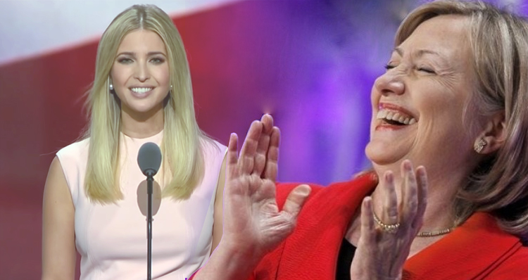 What Is It With The Trump Family's Apparent Admiration For Hillary Clinton?  – Video