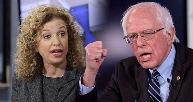 Bernie Sanders Raises Cash To Help Defeat Debbie Wasserman Schultz
