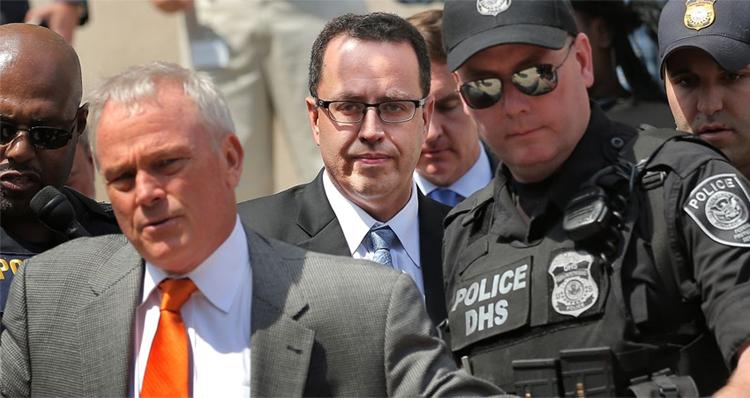 Jared Fogle Files Motion Blaming Child Victim's Parents For Her Emotional Distress